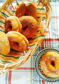 糖質制限*大豆粉で低糖質ドーナッツ☆