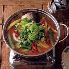 南部の魚のすっぱいスープ(南部のカイン・チュア)