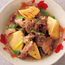 たけのこと豚肉のヌックマム風味煮