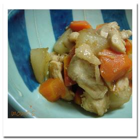 え!生姜入り?の簡単 鶏&野菜炒め煮