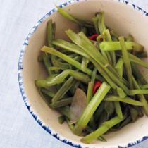 空芯菜の漬物