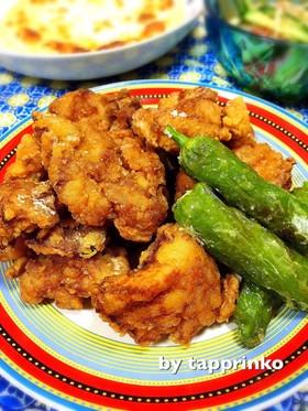 簡単ジューシー♡お弁当に鶏もも肉の唐揚げ
