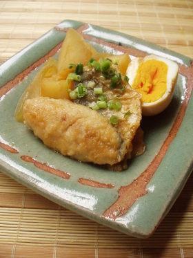 鯵とお芋の韓国風煮