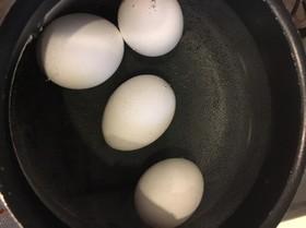 水、冷蔵庫から直で味玉!!
