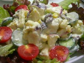 レーズン&さつま芋ヨーグルトサラダ
