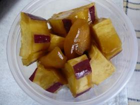 さつま芋の黒酢×はちみつさっぱり煮