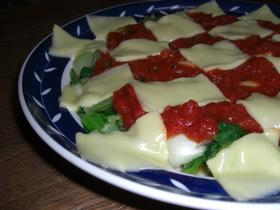 青梗菜とエリンギのHOTサラダ