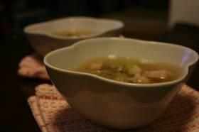 激うまベーコンきゃべつスープ