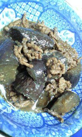 茄子の肉味噌煮