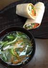 おこめのトルティーヤとお野菜スープ