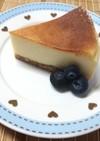 お豆腐入りベイクドチーズケーキ