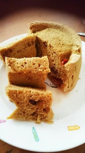 きな粉orおから粉のみのレンチン蒸しパン
