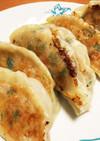 鯖缶と豆腐のジューシー焼き餃子