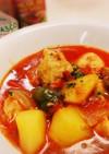 お鍋で簡単☆トマト缶で鶏胸肉煮込み☆