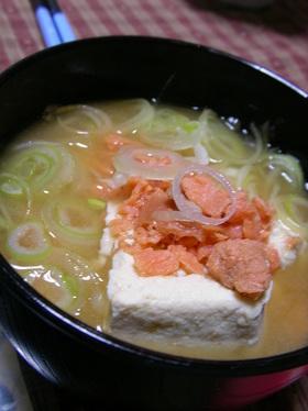 【男の料理】石狩鍋風お味噌汁