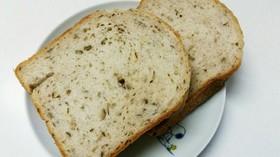 塩麹と米粉入り胡桃食パン(HB)