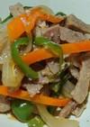 焼肉のたれで♪柔らか豚肉の野菜炒め♪