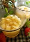 煮りんご&りんごジュースのゼリー