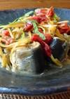 爽やか~!鰯を梅肉と生姜で煮つけました。