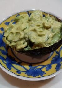 簡単!アボカドと胡瓜のサラダ