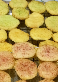 カラフルゼリークッキー