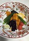 かぼちゃと夏野菜の南蛮漬け