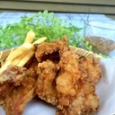 基本の塩鶏の唐揚げ&揚げ物にオススメタレ