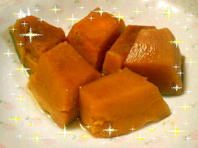しっとりかぼちゃの煮物