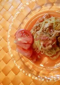 ジュースDe冷製トマトパスタ