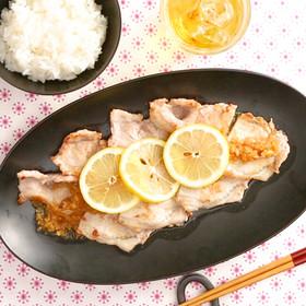 豚肉のレモンジンジャーソース