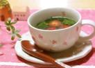 ☆つるむらさきのシャンタンスープ☆