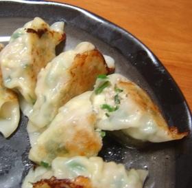 ニラチーズ餃子