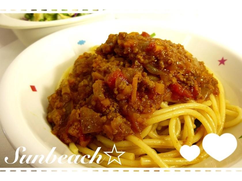 園児に人気☆ミートスパゲティ