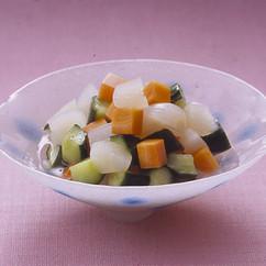 三色野菜のピクルス風