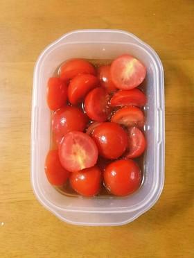 簡単プチトマトのマリネ☆常備菜