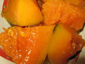 すっきり!さわやか!かぼちゃのレモン煮