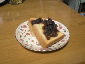 こりゃーうまい簡単小倉トースト