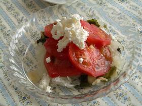 バルサミコ酢で★玉ねぎ&トマトサラダ