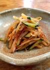 きゅうりともやしのピリ辛中華サラダ