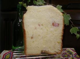 ウインナー・チーズのマフィン風☆食パン