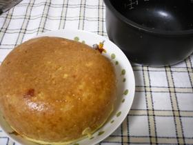 お手軽に★炊飯器Mixベジタブル蒸ケーキ