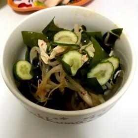 ささみともやしの中華風サラダ