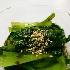 お弁当お野菜おかず:小松菜のり和え