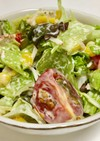 カニカマとレタスのさっぱりサラダ