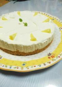 爽やかレモンのヨーグルトムースケーキ