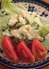 たくあんポテサラ柚子胡椒風味
