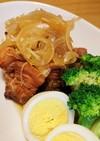 ポン酢で簡単♪豚バラ肉のサッパリ煮