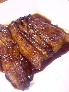 ワインに♬バルサミコ風味のウナギ蒲焼