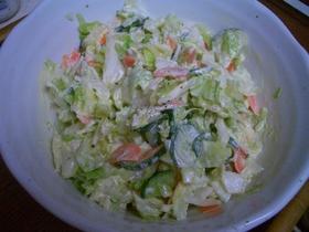 ♪簡単♪キャベツのサラダ♪