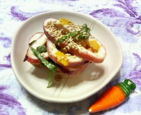 ✿イカと大葉の❀簡単✿柚子味噌和え